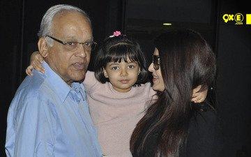 Aishwarya Rai Keeps Diwali Date With Family