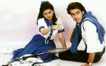 Salman Khan: During Maine Pyar Kiya, Bhagyashree Refused To Expose Her Knee