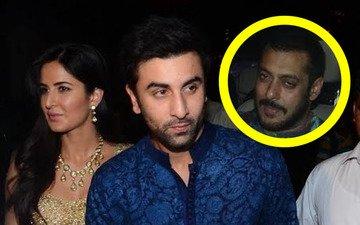 Ranbir-Katrina Leave Anil's Party To Avoid Salman