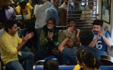 Amitabh Bachchan Travels By Mumbai Local