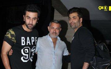 Ranbir, Karan Rush To Visit Injured Aamir