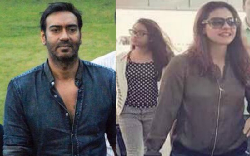 Kajol Visits Ajay's Shivaay Sets In Mussoorie