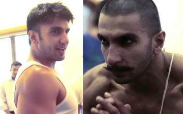 Watch Ranveer Singh Go Bald For Bajirao Mastani