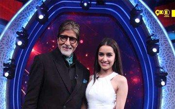 Shraddha Meets Her Idol Big B