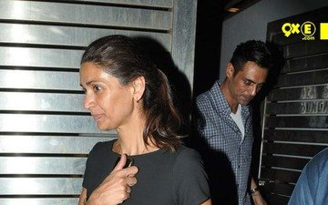 Arjun Rampal's Birthday Bash With Rock On Cast At Farhan Akhtar's House