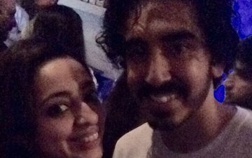 Dev Patel Spotted Partying With JP Dutta's Daughter