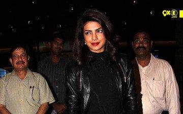 Priyanka Chopra Back Home For Bajirao Mastani