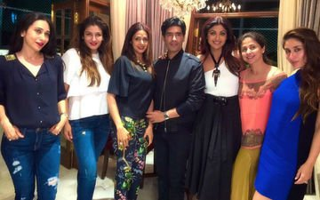 Manish Malhotra Brings In B'day With His Favourite Divas