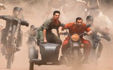 Check Out Varun and John In Dishoom