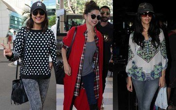 Airport Special: Bollywood Divas Up Cool Quotient