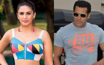 After Chitrangada, Huma Spotted In Salman's Swimming Pool