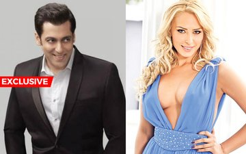 Salman's Steady Date Iulia Lands Up On Sultan Sets