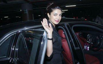 Priyanka Chopra Returns To Mumbai