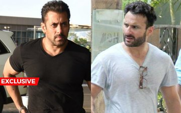 SHOCKER: Salman-Saif Give Each Other The Royal Ignore!
