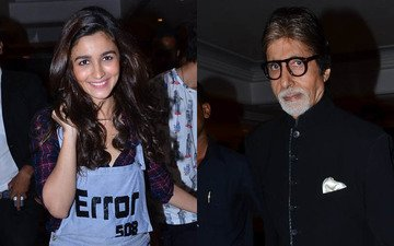 Alia, Amitabh Leading In PETA India's Hottest Vegetarian Celebrity 2015 Race