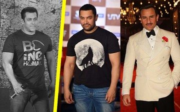 Salman Runs Into Aamir And Saif At Anil's Birthday!
