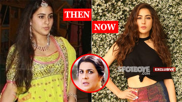 The Transformation Of Sara Ali Khan: Mommy Amrita Singh Didn't Recognise Her At The Airport!
