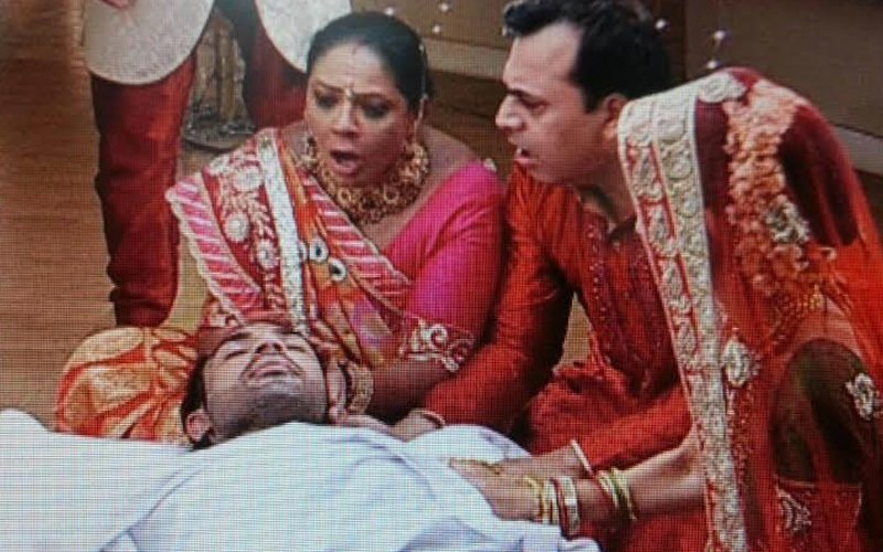 Co-stars break down while shooting for Ahem's death scene in Saath Nibhaana Saathiya