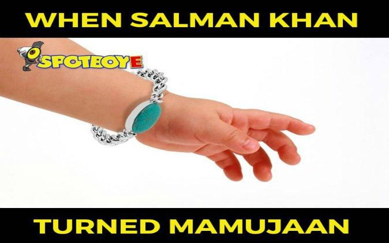 MEME: Salman Khan becomes Mamu-Jaan