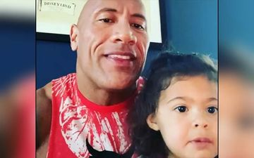 Quarantine Diaries: Doting Dad Dwayne The Rock Johnson Sings for Daughter 937th Time; Says Has Forgotten Which Day It Is
