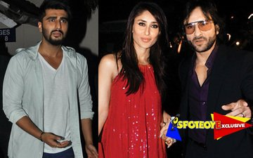 Arjun calls Kareena past midnight, Saif goes wild