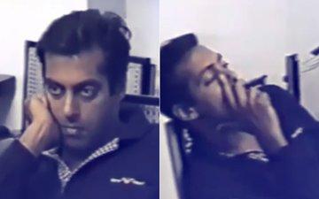 VIRAL VIDEO: Salman Khan Recording Statement 20 Years Back For Blackbuck Case