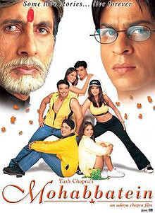 mohabattein poster