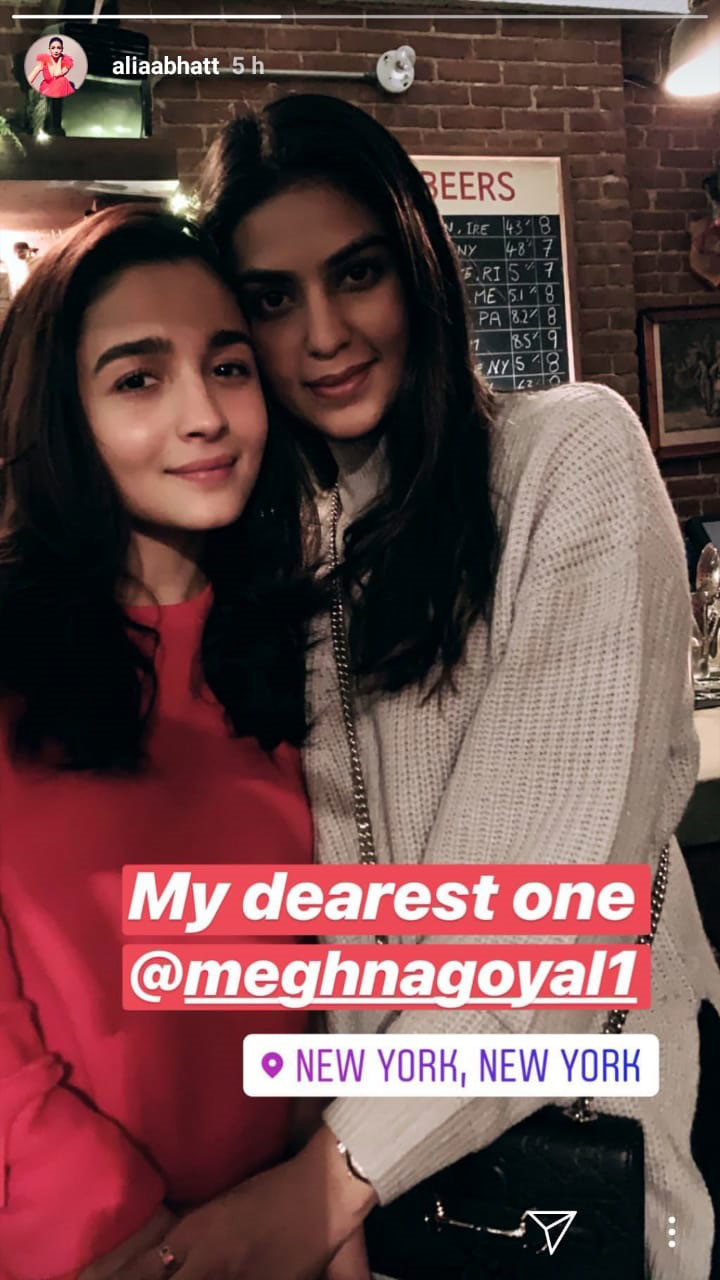alia bhatt with her friend