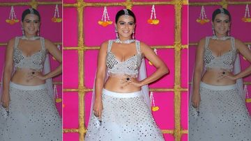 Nia Sharma's Lehenga Catches Fire At Ekta Kapoor's Diwali Party; Here's What Saved Her From The Life-Threatening Mishap