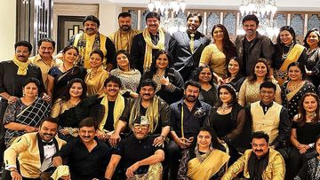 Poonam Dhillon, Jackie Shroff Join The 80's Stars' Reunion At Chiranjeevi's Hyderabad Mansion