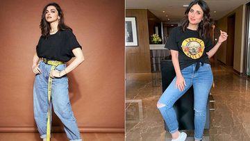 Who Werked It Better? Kareena Kapoor Khan OR Deepika Padukone In Black On Denim Look