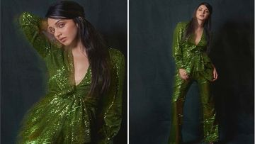 Kiara Advani Pairs A Glittery Jacket With High-Waisted Pants; Her Trend-Setting Look Costs Rs 30 Thousand