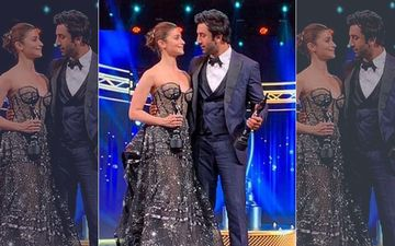 "Alia Bhatt Elucidates Her ""I Love You"" Moment With Ranbir Kapoor At The Filmfare Awards 2019"