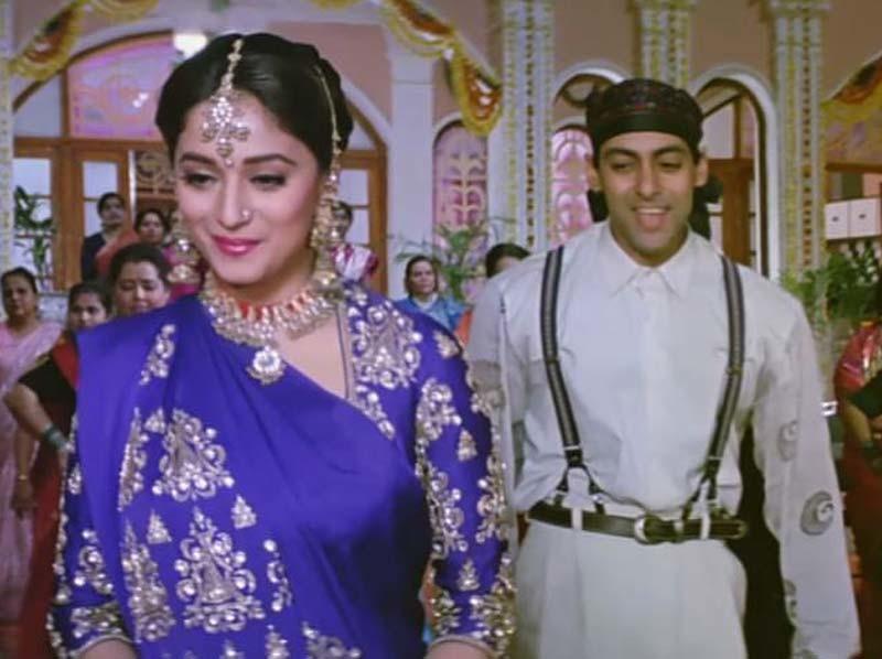 Salman Khan and Madhuri Dixit