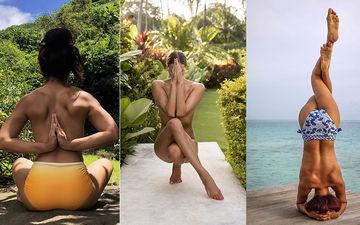 Abigail Pande And Aashka Goradia Go Topless, Seek Inspiration From Instagram Sensation Nude Yoga Girl