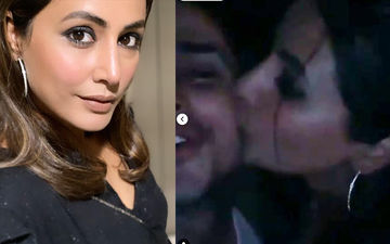 Hina Khan Gives A Kiss To Birthday Boy Priyank Sharma, Watch INSIDE Pictures And Videos From His B'day Bash