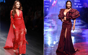 What's Hotter? Decoding Malaika Arora's Lakme Fashion Week 2019 Vs 2017 Look