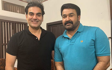Arbaaz Khan Croons To Classics; Brings In Birthday Over Karaoke Night With Mohanlal - Watch Video