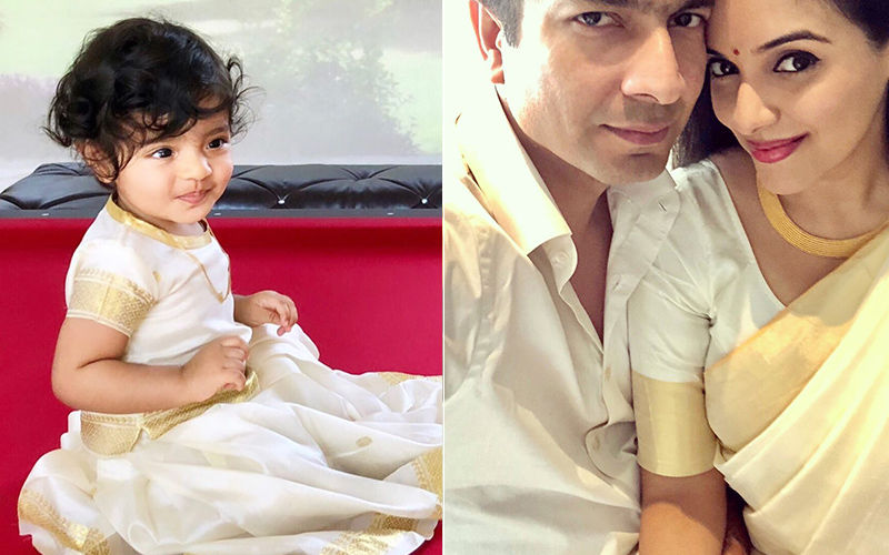 Asin's Darling Daughter's Throwback Pictures Are Indeed Making Our Onam A Very Happy One