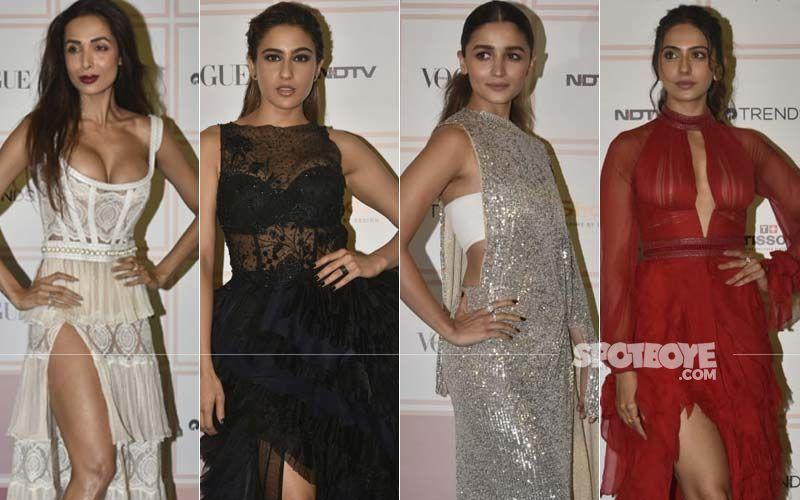 Vogue Beauty Awards 2019: Malaika Arora, Sara Ali Khan, Alia Bhatt, Rakul Preet Singh Put Their Most Fashionable Foot Forward, Dazzle On The Red Carpet