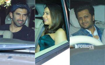 Sidharth Malhotra Birthday Bash: Karan Johar, Genelia D'Souza, Riteish Deshmukh, Aditya Roy Kapur Join The Party
