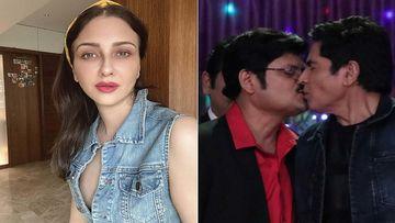 Bhabiji Ghar Par Hain Liplock: Saumya Tandon Reacts As Tiwari Ji And Bhabuti Ji Kiss Each Other On The Lips