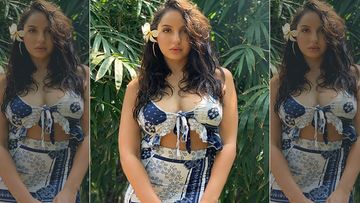 Nora Fatehi Scorches Up The Heat Wearing A Flimsy Sarong On The Beach; The Internet Is Having A Meltdown