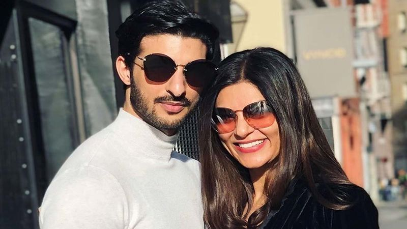 Sushmita Sen's Partner Rohman Shawl Gets Her Initials Temporarily Inked On His Forearm, But It's His Romantic Message That Is Giving Us A Heartmelt