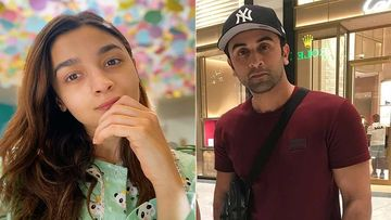 Alia Bhatt Cheers For Boyfriend Ranbir Kapoor's Team Mumbai City FC At Goa Game; Lovers Lend A Dash Of Glam At The Stands