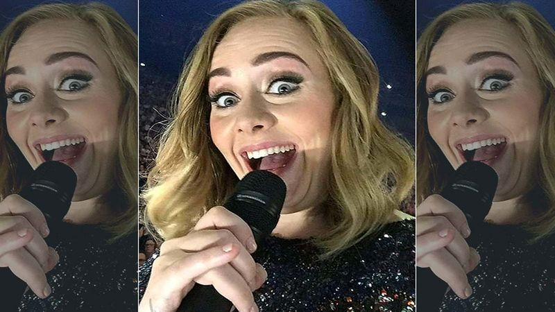 Rolling In The Deep Singer Adele Drops 50Kg; Shows Off Super Sexy Hot-Bod In London