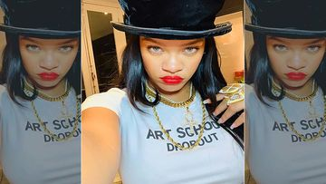 Rihanna Is Spring Ready In Her Lacy Vintage Lingerie - Oh My God
