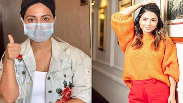 Coronavirus Scare: Hina Khan Instructs People How To Wear Surgical Mask Correctly - Watch Video
