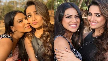 Naagin 4: Anita Hassanandani Shoots Nia Sharma's First-Ever Tik Tok Video As They Kill Time In Between Shots