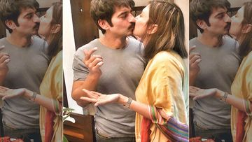 Hiten Tejwani Lip Locks With His Wifey On His Birthday; Calls Himself A Frog Before The Kiss